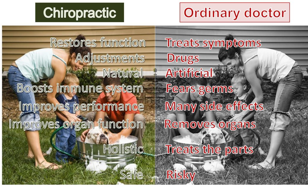 How chiropractic compares