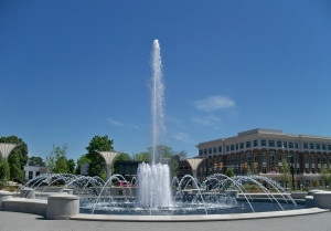 Fountain Park in downtown Rock Hill
